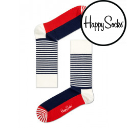 Ponožky Happy Socks Half Stripe (SH01-068)