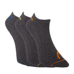 3PACK ponožky HEAD šedé (761010001 002)