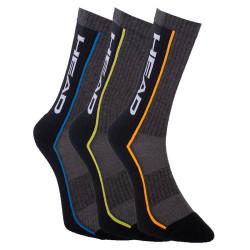 3PACK ponožky HEAD vícebarevné (791011001 002)