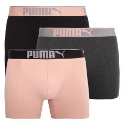 3PACK pánské boxerky Puma vícebarevné (681030001 001)