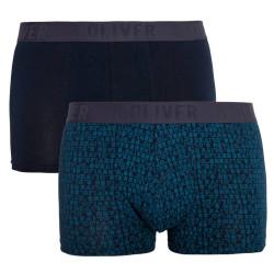 2PACK pánské boxerky S.Oliver tmavě modré (26.899.97.4510.17G4)