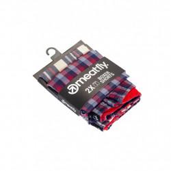 2PACK pánské trenky Meatfly vícebarevné (Jukebox 20 - A)