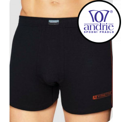 Pánské boxerky Andrie černé (PS 5086 A)