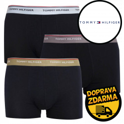 3PACK pánské boxerky Tommy Hilfiger tmavě modré (UM0UM01642 0TW)