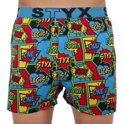 Pánské trenky Styx art sportovní guma boom (B955)