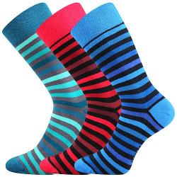 3PACK ponožky Lonka vícebarevné (Deline 1)