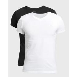 2PACK pánské tričko Gant černo/bílé (900002118-111)
