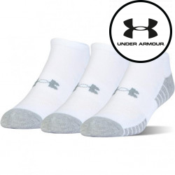 3PACK ponožky Under Armour bílé (1346755 100)