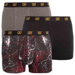 3PACK pánské boxerky CR7 vícebarevné (8110-49-708)
