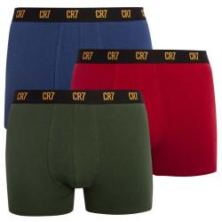 3PACK pánské boxerky CR7 vícebarevné (8100-49-671)