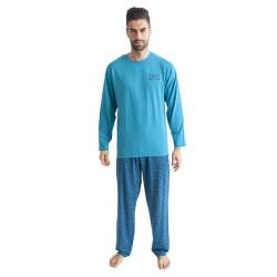 Pánské pyžamo Gino zelené (79089)