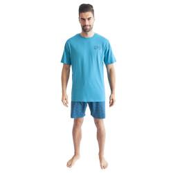 Pánské pyžamo Gino zelené (79094)
