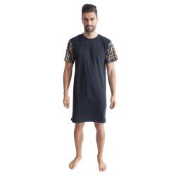 Pánská noční košile Gino tmavě šedá (79088)