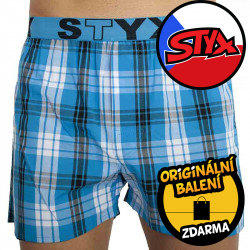 Pánské trenky Styx sportovní guma vícebarevné (B821)
