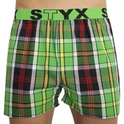 Pánské trenky Styx sportovní guma vícebarevné (B822)