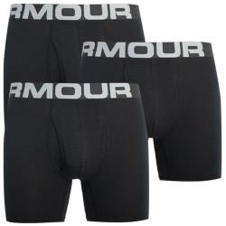 3PACK pánské boxerky Under Armour černé (1363617 001)