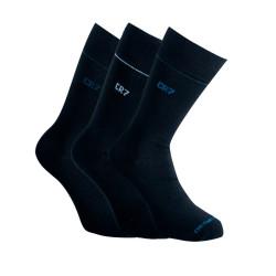 3PACK ponožky CR7 černé (8273-80-901)