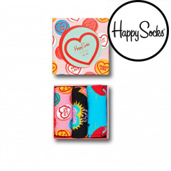 3PACK ponožky Happy Socks I Love You Gift Box (XLOV08-0100)