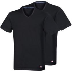2PACK pánské tričko Champion černé (Y09G7)