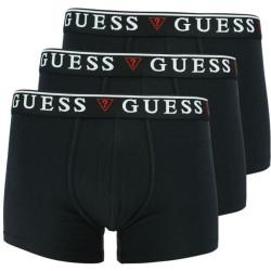 3PACK pánské boxerky Guess černé (U97G01JR003-A996)