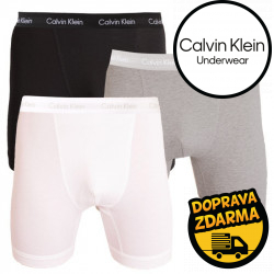 3PACK pánské boxerky Calvin Klein vícebarevné (NB2667A-MPI)