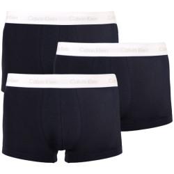 3PACK pánské boxerky Calvin Klein černé (NB2666A-AOR)