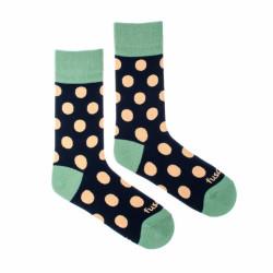 Veselé ponožky Fusakle puntíkáč půlnoční (--1088)