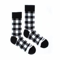 Veselé ponožky Fusakle karo blekvajt (--0937)