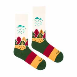 Veselé ponožky Fusakle naše krajina (--1045)