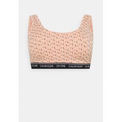 Dámská podprsenka CK ONE nadrozměr růžová (QF5950E-922)