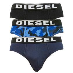 3PACK pánské slipy Diesel vícebarevné (00SH05-0WBAE-E5436)