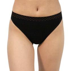 Dámské kalhotky Gina černé (00033)