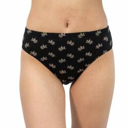 Dámské kalhotky Gina černé (10213)