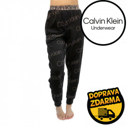 Dámské tepláky na spaní Calvin Klein černé (QS6510E-96Y)