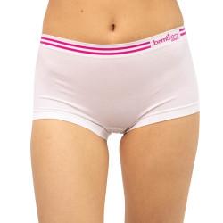 Dámské bambusové kalhotky Gina bílé (03010)