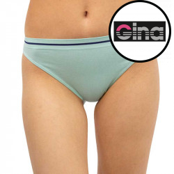 Dámské kalhotky Gina bambusové zelené (00024)