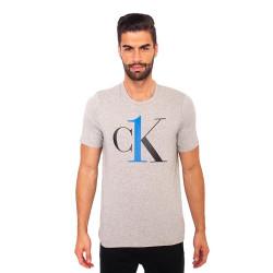 Pánské tričko CK ONE šedé (NM1903E-YG4)