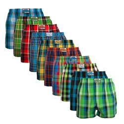 10PACK pánské trenky Styx klasická guma vícebarevné (A8212234567890)