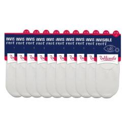 10PACK Ponožky Bellinda bílé (BE491006-920)
