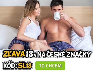 Zlava 18% na české značky